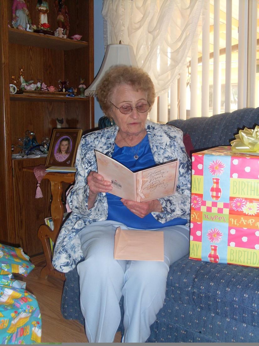 Grandma's Birthday 2008 13