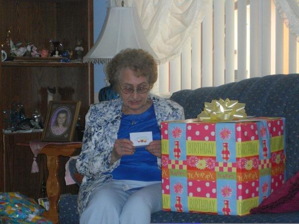 Grandma's Birthday 2008 9